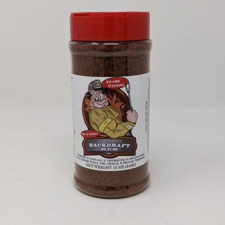 Code 3 Spices - Backdraft Rub - 12oz