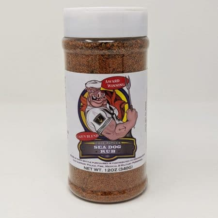 Code 3 Spices - Sea Dog Rub - 12oz